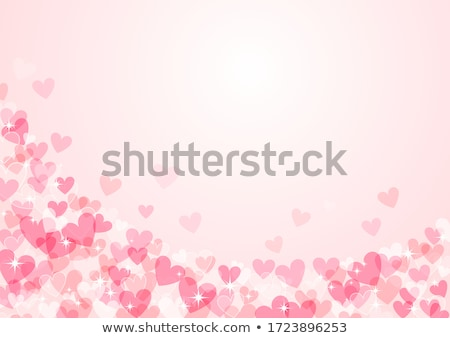 美しい · 赤いバラ · 国境 · 心 · 抽象的な · 休日 - ストックフォト © photocreo
