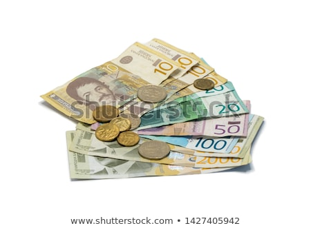 Serbian dinars Stock photo © simply