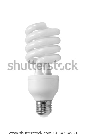 energia · bulbo · isolado · imagem · branco - foto stock © Pilgrimego