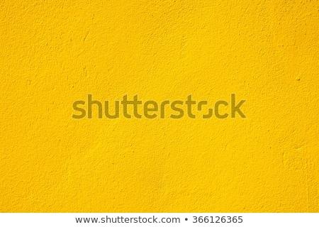 желтый стены конкретные Сток-фото © schizophrenia