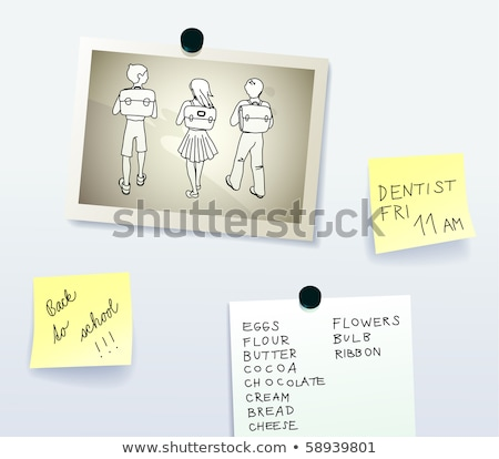 male and female symbols magnetism Stock photo © antkevyv
