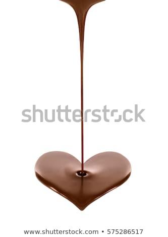 Foto stock: Chocolate · arte · artístico · retrato · belo · jovem