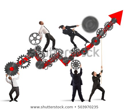 Growing Organisation Stock photo © vectomart