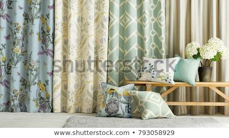 элегантный · белый · спальня · удвоится · кровать · дома - Сток-фото © ziprashantzi