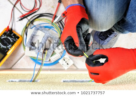 Electrical Wiring In Insulation Stock photo © lisafx