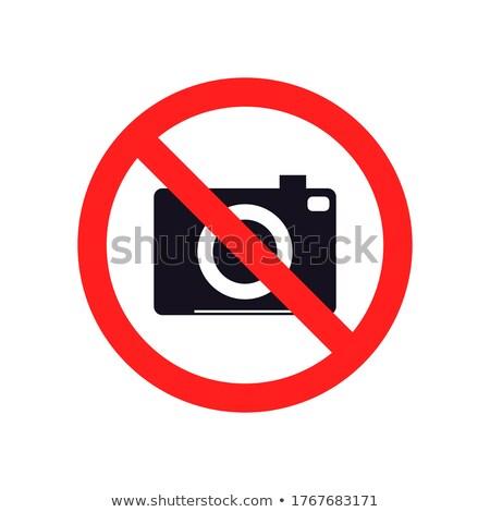 Camera Banned Stock photo © experimental