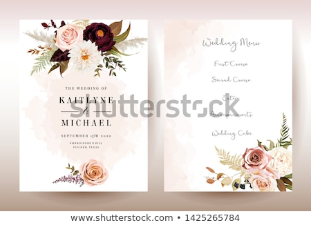 anel · de · noivado · champanhe · vidro · ilustração · par · casamento - foto stock © carodi