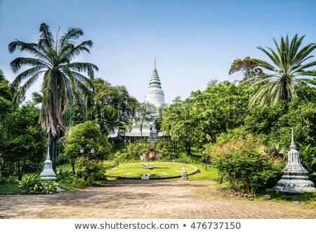 像 カンボジア 庭園 ストックフォト © travelphotography