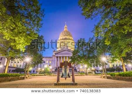 Charleston, West Virginia - State Capitol Building Stock photo © benkrut
