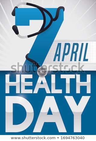 Seven day medicine chest Stock photo © gemphoto