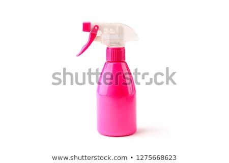 Plástico rosa água isolado branco Foto stock © boroda