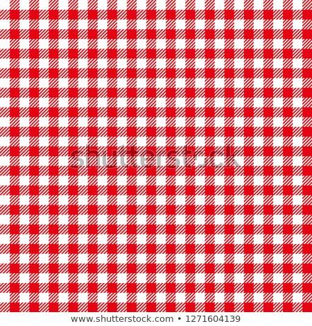 Retro tablecloth texture Stock photo © obradart