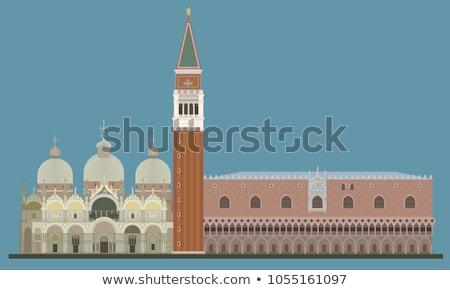 バシリカ マーク 鐘 塔 ヴェネツィア ストックフォト © aladin66