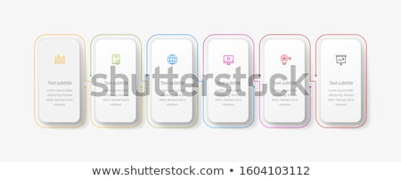Modern vector template for your business project Stock photo © theseamuss