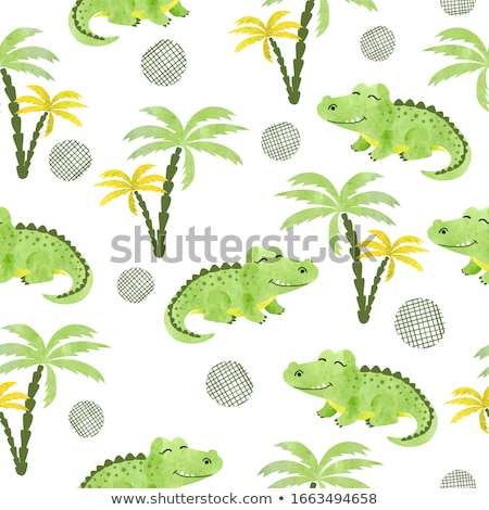 aligátor · fiatal · Florida · mocsár · természet · utazás - stock fotó © saddako2