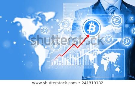 Choosing bitcoins as currency Stock photo © stevanovicigor