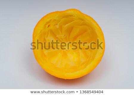 squeezed orange halves without squeezing Stock photo © marimorena