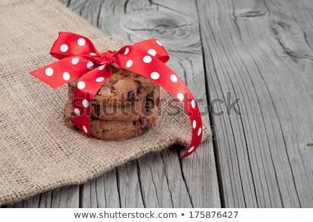 chocolate · cookies · grupo · grasa · postre - foto stock © natika