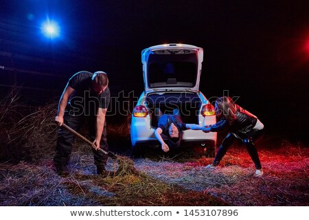 The car of the Russian gangster Stock photo © vavlt