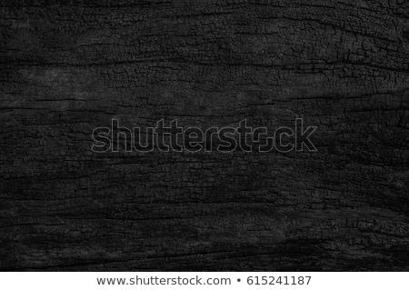 Brandend houtskool hot vlam textuur licht Stockfoto © meinzahn
