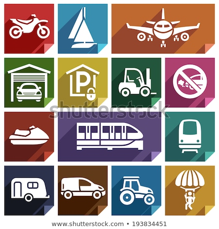 Transport flat icon-08 Stock photo © Ecelop
