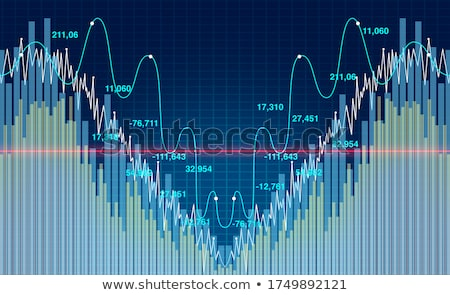Stock photo: Financial Crash and Rebound
