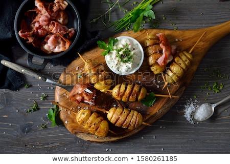 Potatoes and curd Stock photo © joker