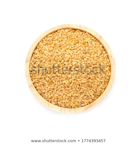 gold flax seeds Stock photo © PixelsAway