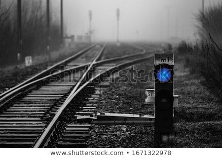信号 · 列車 · 実例 · 背景 · 芸術 · にログイン - ストックフォト © mayboro1964