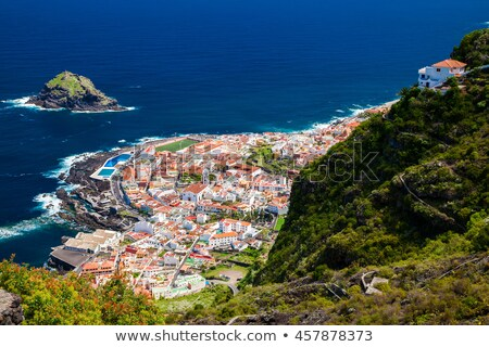 Northen coast of Tenerife, in Canary Islands, Spain Stock photo © nito