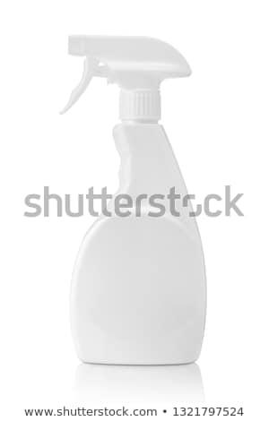 Beyaz plastik sprey şişe yalıtılmış su Stok fotoğraf © dezign56