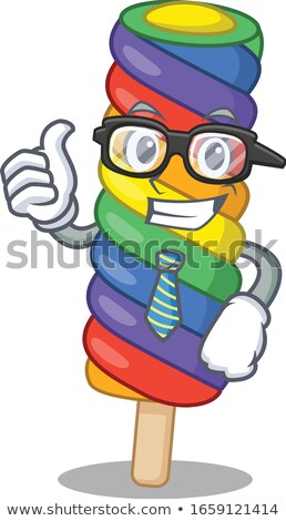 businessman with rainbow necktie Stock photo © nito