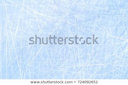 Foto stock: Patinaje · hielo · textura · patrón · temporada · de · invierno