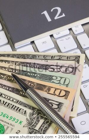 бизнеса столе дневнике клавиатура компьютер дизайна Сток-фото © CaptureLight