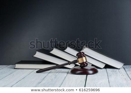 lei · livro · gabela · direitos · humanos · guerra · justiça - foto stock © zerbor