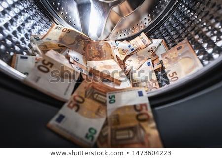 geld · verscheidene · verschillend · euro · bankbiljetten · waslijn - stockfoto © devon