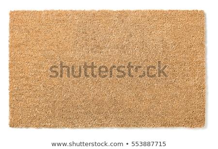 welcome door mat isolated stock photo © ozaiachin