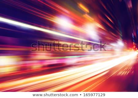 abstract light trails stock photo © klinker