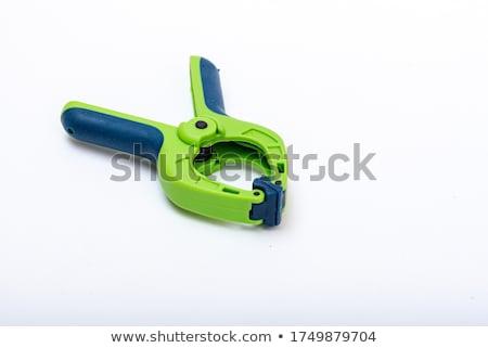 пластиковых изолированный белый фон кабеля Pin Сток-фото © shutswis