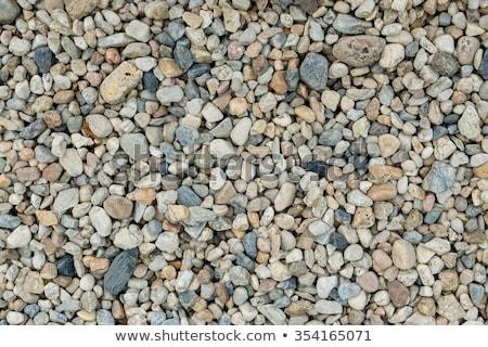 ghiaia · texture · sfondo · sabbia · pietra · nero - foto d'archivio © fesus