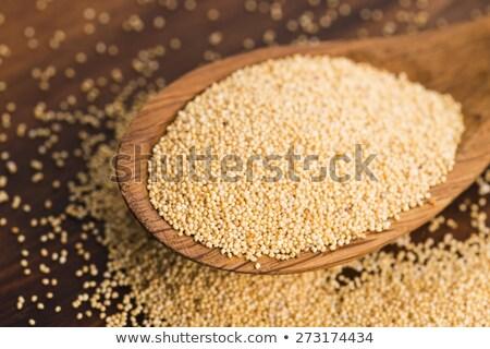 Orgánico blanco amapola semillas primer plano textura Foto stock © ziprashantzi