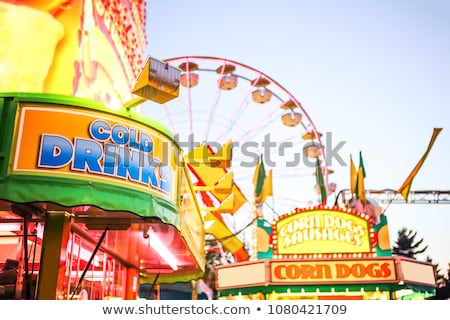 A travelling funfair Stock photo © jeancliclac