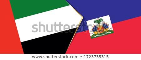 Объединенные Арабские Эмираты Гаити флагами головоломки изолированный белый Сток-фото © Istanbul2009