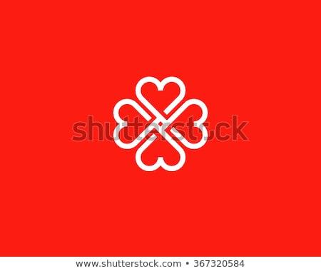 four hearts stock photo © bigalbaloo