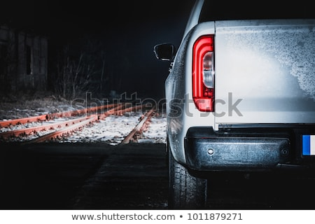 cross-country vehicle at night Stock photo © tracer