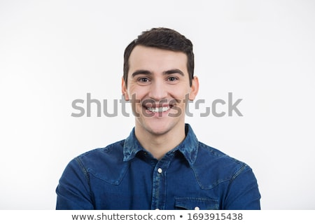 Moda giovani attrattivo felice uomo bianco Foto d'archivio © zurijeta