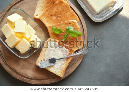Butter & Toast Stock photo © jrstock