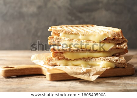 Cook tasty toasted sandwiches Stock photo © georgemuresan