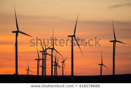 Rüzgâr tepe San Francisco enerji Stok fotoğraf © meinzahn