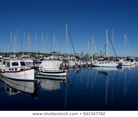 Marina of Menorca Stock photo © zhekos